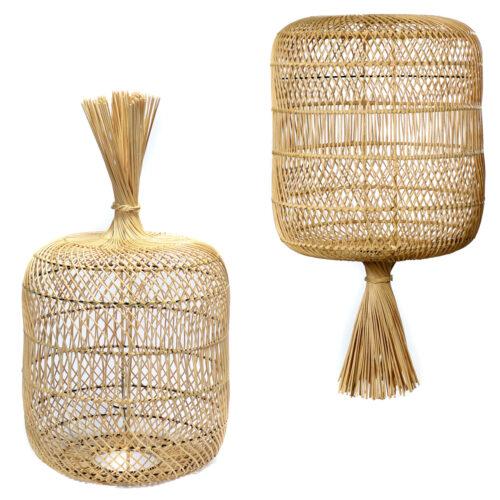 rattan dumpling floor lamps pendant