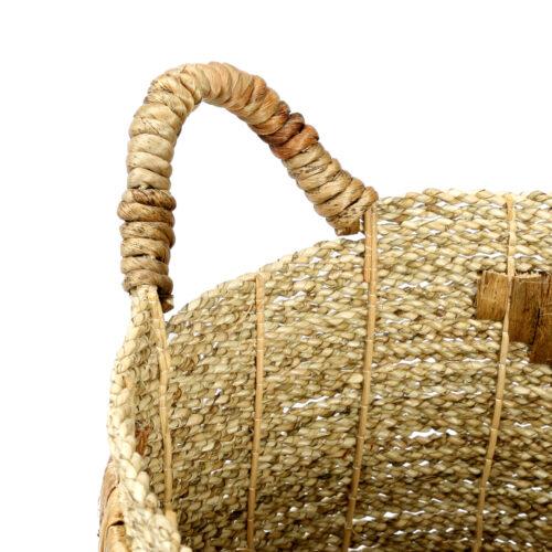 detail van zeegras mand