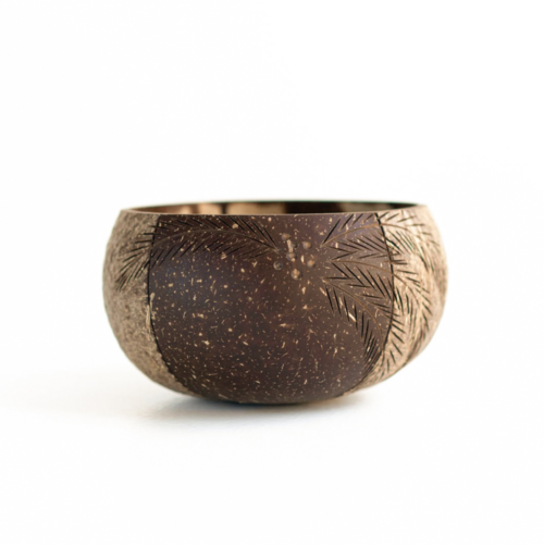 Palm_500ml bowl made from coconut shell