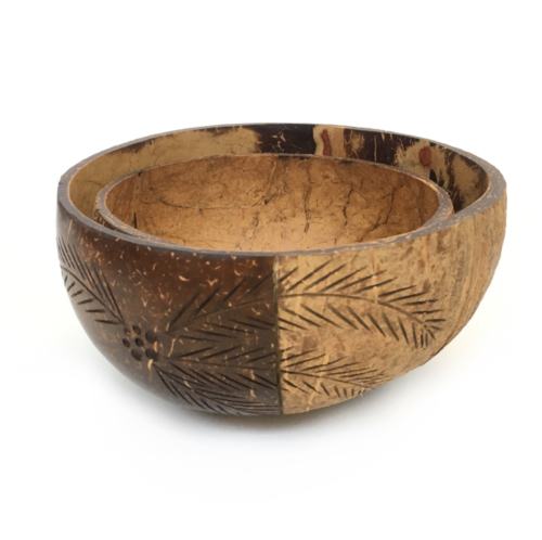 Palm_500ml bowls made from coconut shell