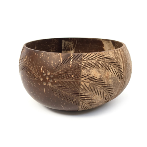 Palm_800ml bowl made from coconut shell