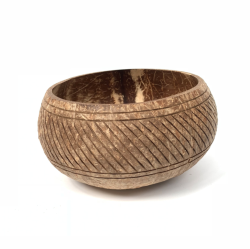 Sunset_800m bowl made from coconut shell