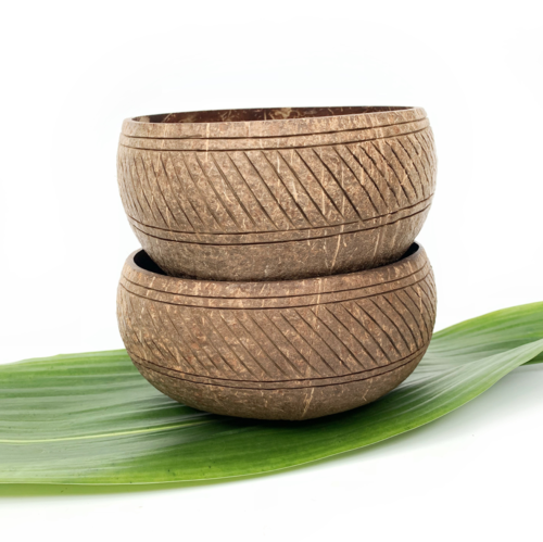 bowls made from coconut shell