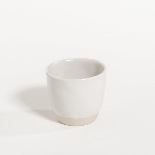 espresso kop in melk kleur