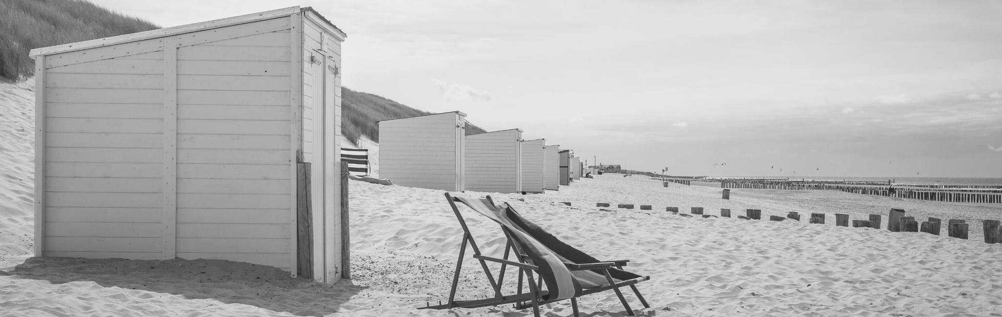 Beachhouse with chair