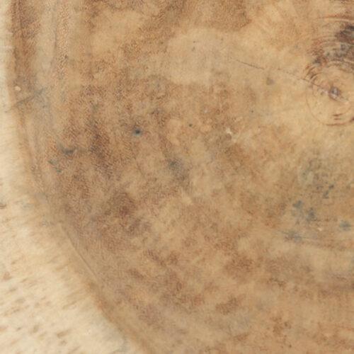 detail van een krukje, houtnerven